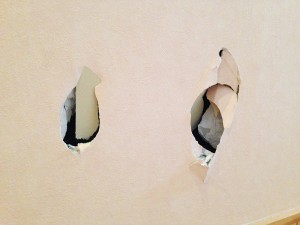 札幌市西区壁穴