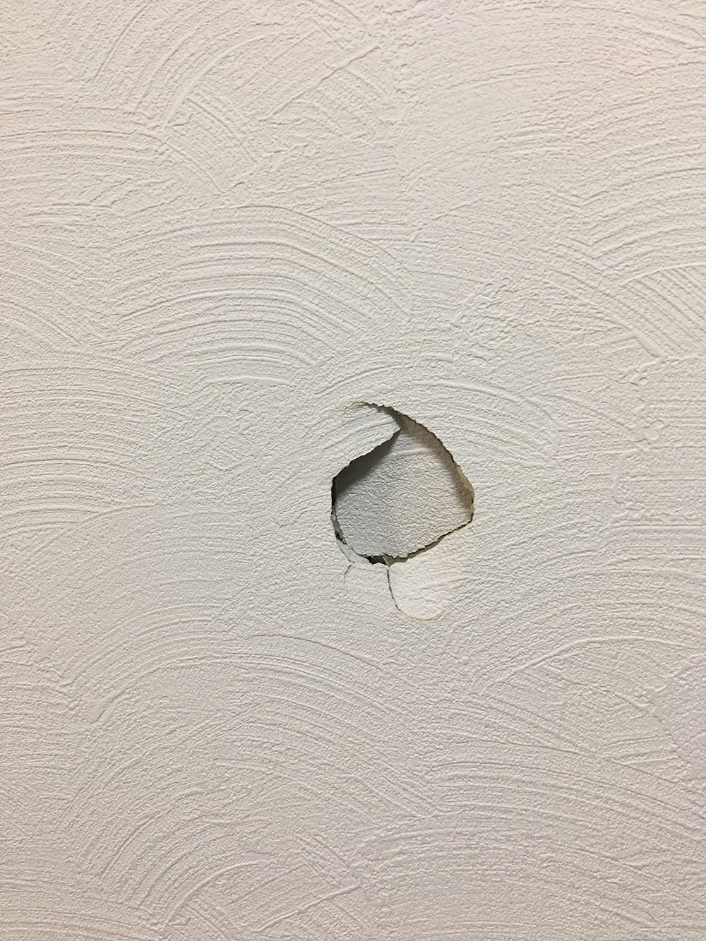 札幌賃貸壁穴補修